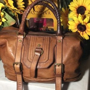 The Sak - Brown leather bag